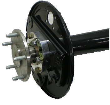 banjo axle conversion