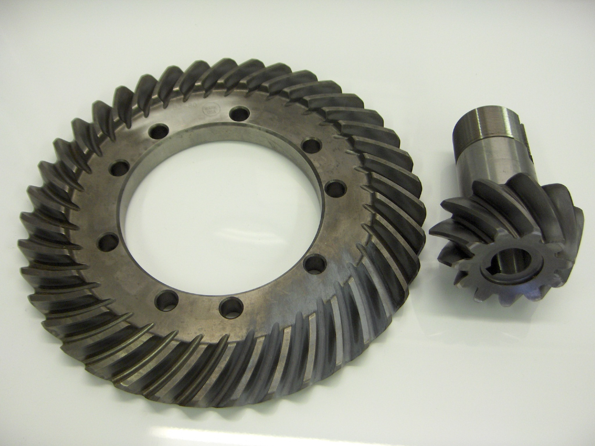 model a ring and pinion
